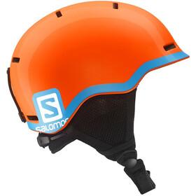 Salomon Grom Helmet Fluo Orange/Blue